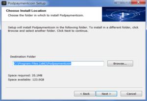 podbitcoin pod payment coin wallet installer folder