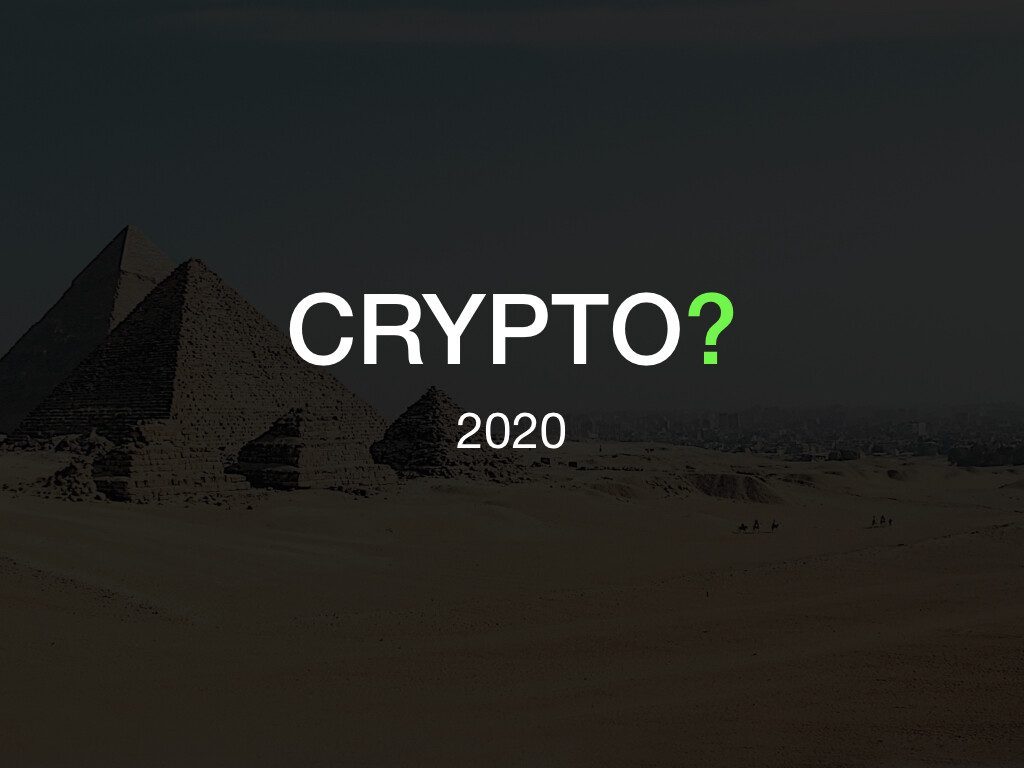 Recommended cryptocurrency for 2020